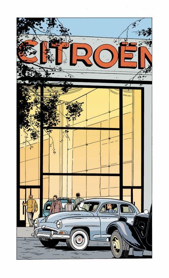 Cars in Comic Art