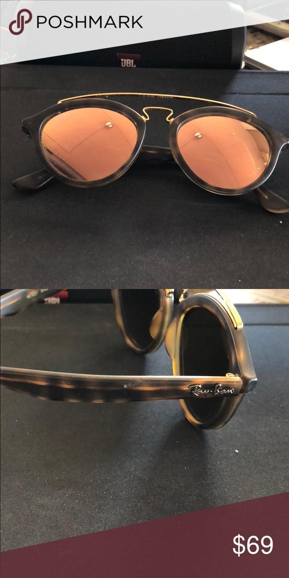 e43cf185047cd Authentic Tortoise RayBan Sunglasses Stylish round retro shape. Preowned no  scratches Ray Ban Accessories Sunglasses