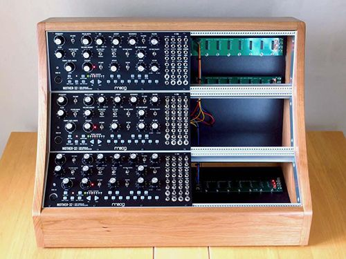Moog Mother 32 Cherry Eurorack Case | All things synth    | Music