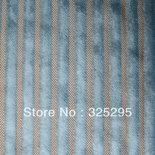 Cheap Velvet Curtain Fabric Buy Quality Velvet Fabric Directly From China Curtain Fabric Suppliers Curtai With Images Stripes Design Curtain Fabric Blue Color