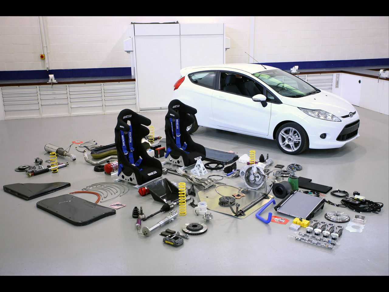 2011 ford fiesta r2 rally kit part