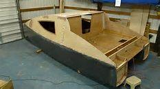 Homemade Mini Pontoon Boat Dividing Pontoons Into 4 Per