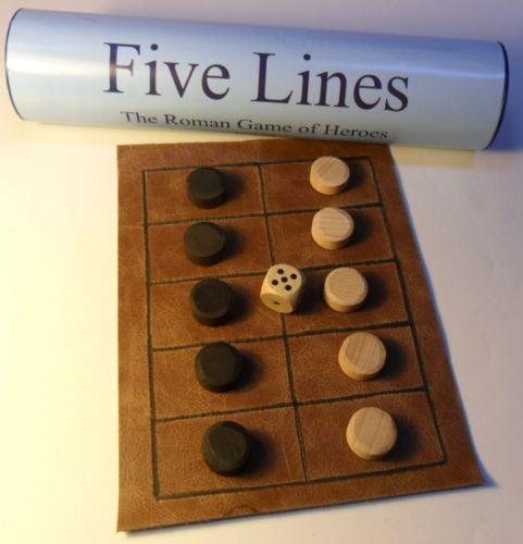 Cinco lines/pente grammai/game De Heroes Antigua greek/roman histórico Juego De Mesa