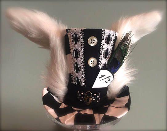 Alice in Wonderland Inspired Top Hat
