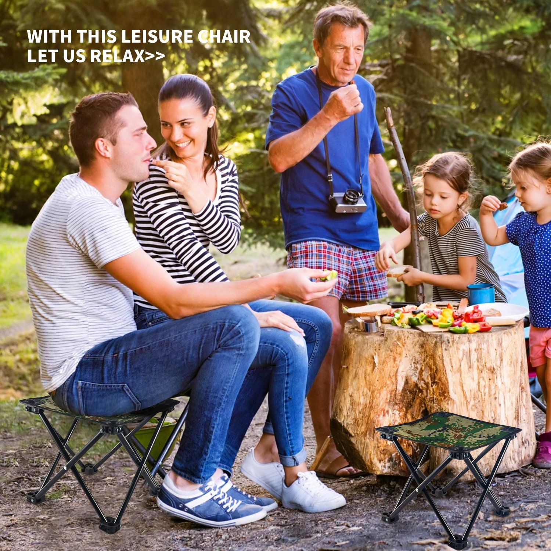 Poit Mini Folding Camping Stool Chair Portable Camping
