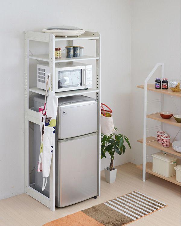 Rack refrigerator top rack kitchen shelves ( range stand alone ...