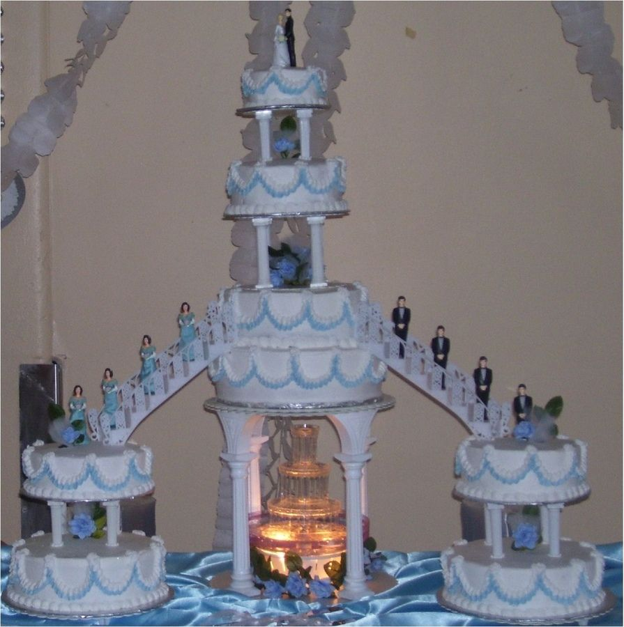 wedding cakes with stairs - Google Search | Stair Cakes ...
