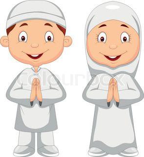 Gambar Animasi Kartun Islami Lucu Gambar Dp Bbm Islami Gambar
