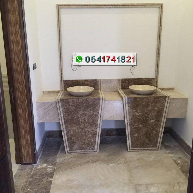 مصنع ايديال استون مغاسل رخام طبيعي وصناعي تفصيل حسب الطلب مغاسل رخام حديثة مغاسل رخام جدة خبرة اكثر من 22 عاما Trash Can Bathroom Canning