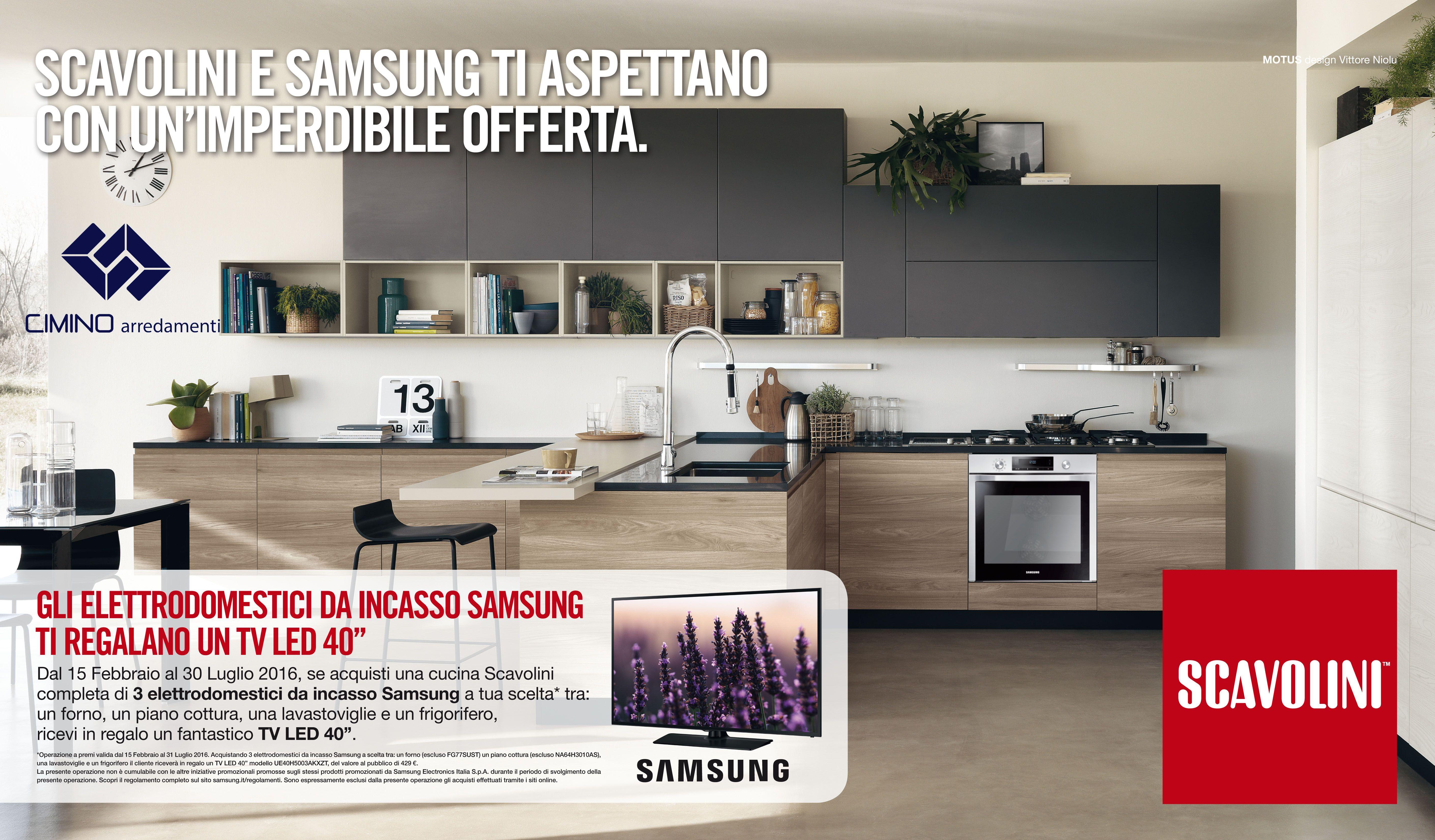 Promo # Scavolini # Samsung # TV # Led ...