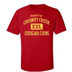 Coconut Creek Elementary School Coconut Creek Fl Men S T Shirts Start At 21 97 With Images Mens Tshirts Custom Clothes Oxnard High School
