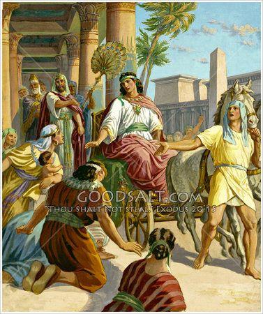 Joseph Made Ruler Of Egypt Genesis 41 37 57 Vintage