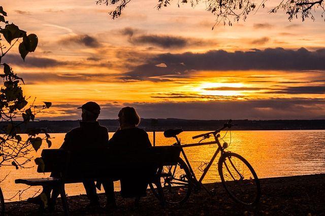 retket, auringonlasku, yhdessä, hiljaisuus, kauneus, nauttiminen, hengittäminen