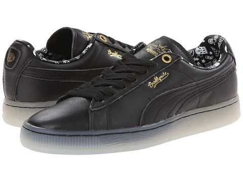 Womens Shoes PUMA Basket Classic XS Chang Black