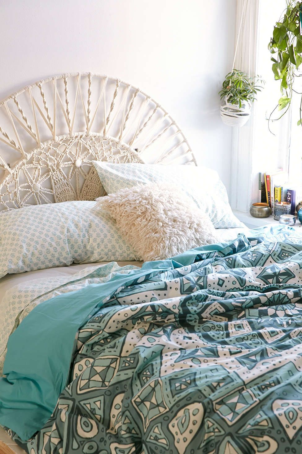 Sol macrame headboard magical thinking urban outfitters and urban