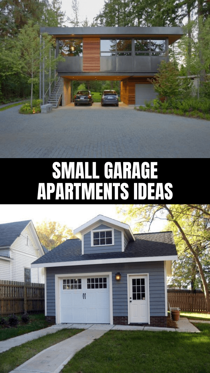 AWESOME SMALL GARAGE APARTMENTS IDEAS | Small garage ...