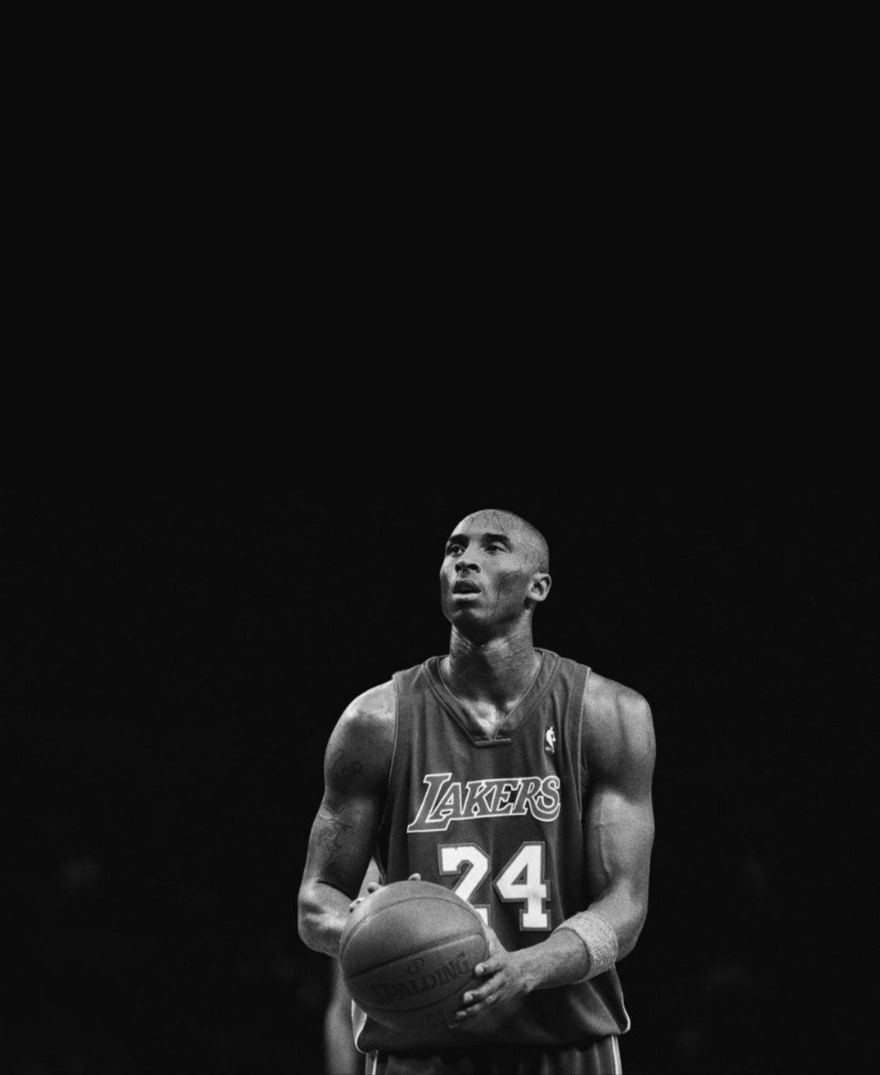 Kobe Bryant Black White Picture Print Black And White Photo Wall Print Pictures Kobe Bryant Poster
