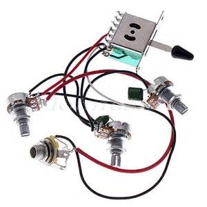 Remarkable New Wiring Harness For Fender Strat Guitar Pickup Switch Pots Jack Wiring Database Hyediarchgelartorg