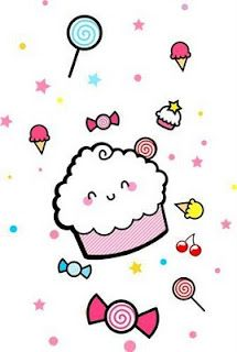 Cartoon Cupcake Kawaii Cute Kawaii Doodles Cartoon Cupcakes