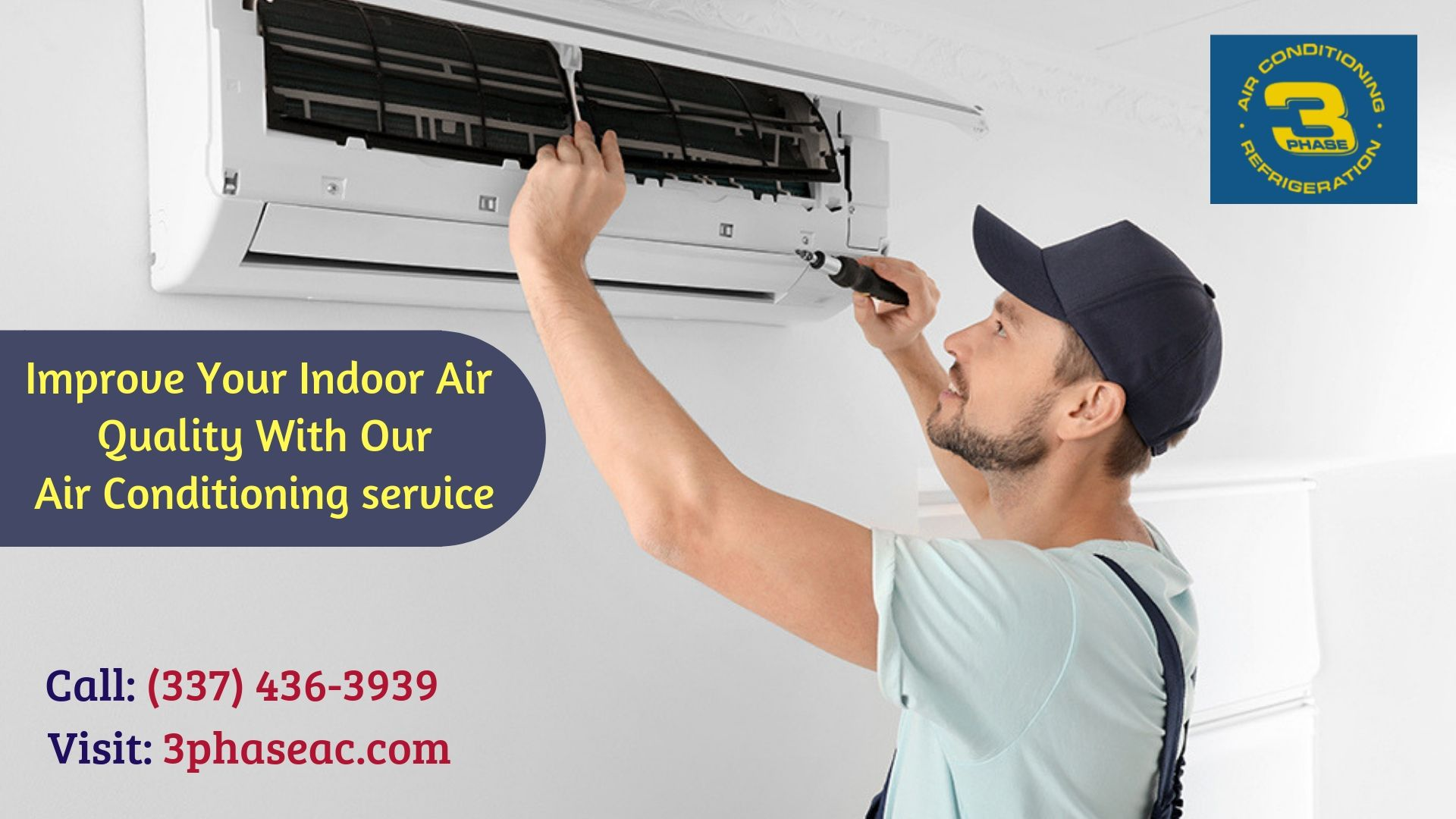 Having Thought To Get Quality Air Conditioning Service At Three