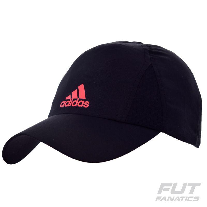 de63a46c4a8d5 Boné Adidas Climacool 6p Preto
