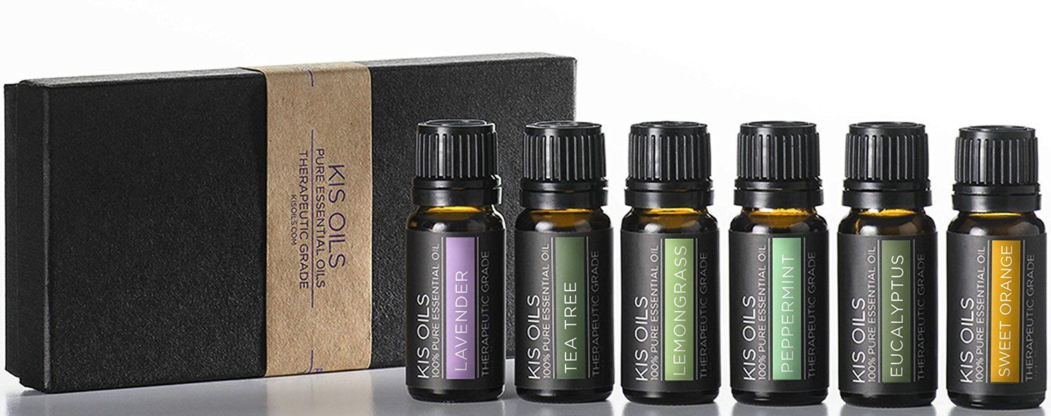 Amazon.com: Aromatherapy Top 6 100% Pure Therapeutic Grade Basic Sampler Essential Oil Gift Basic sampler essential oil gift set 6/10ml (lavender, sweet orange, peppermint, lemongrass, tea tree, eucalyptus): Health & Personal Care