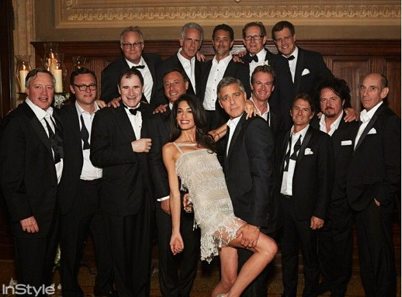 It S Here Amal Alamuddin And George Clooney S Official Wedding Album George Clooney Wedding