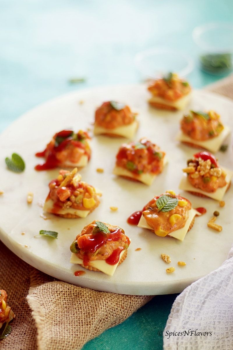 Cheesy monaco bites monaco biscuit party topping recipe cheesy monaco bites monaco biscuit party topping forumfinder Choice Image