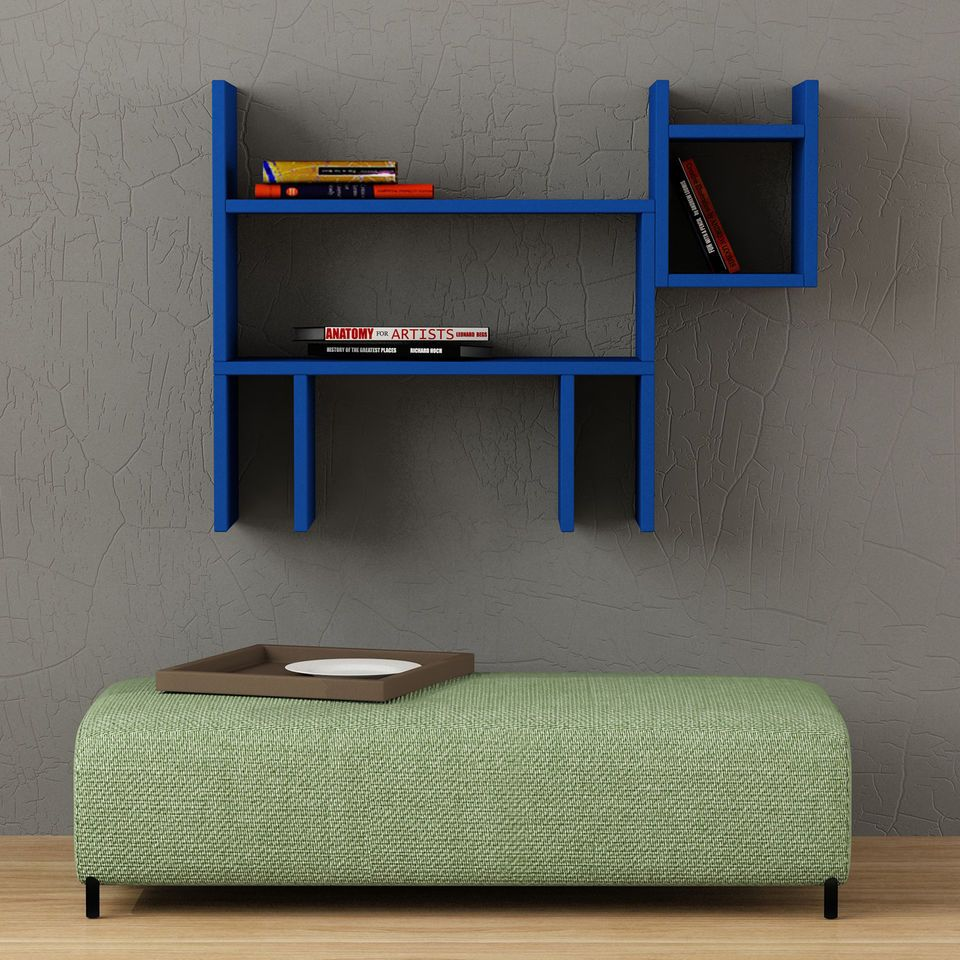 Dogie Modern Wall Shelves for Kidus Room by Decortie Diseño de