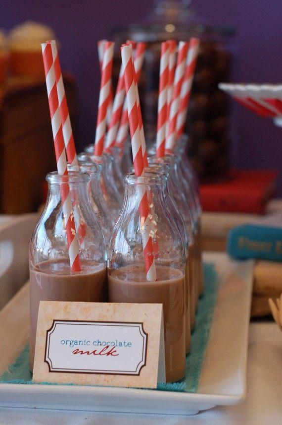 Latte al cioccolato,come da bambina :)