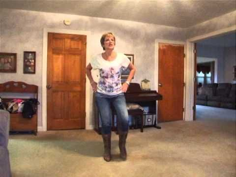 Any Man Of Mine With Music Dance Instruction Line Dancing Country Girl Style