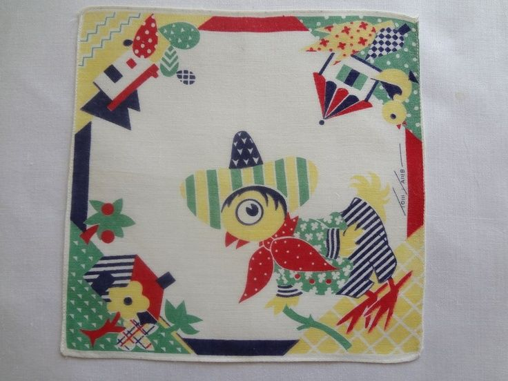 Tom Lamb Children's Hankie Sombrero Chick | Hankies | Pinterest