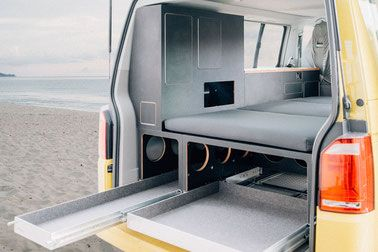camping ausbau und module f r vw t5 t6 california beach. Black Bedroom Furniture Sets. Home Design Ideas