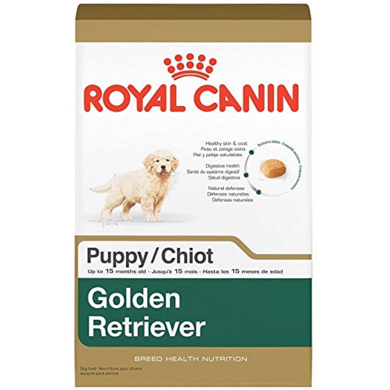 Royal Canin Breed Health Nutrition Golden Retriever Puppy Dry Dog Food 30 Pound Please Be Su Dry Dog Food