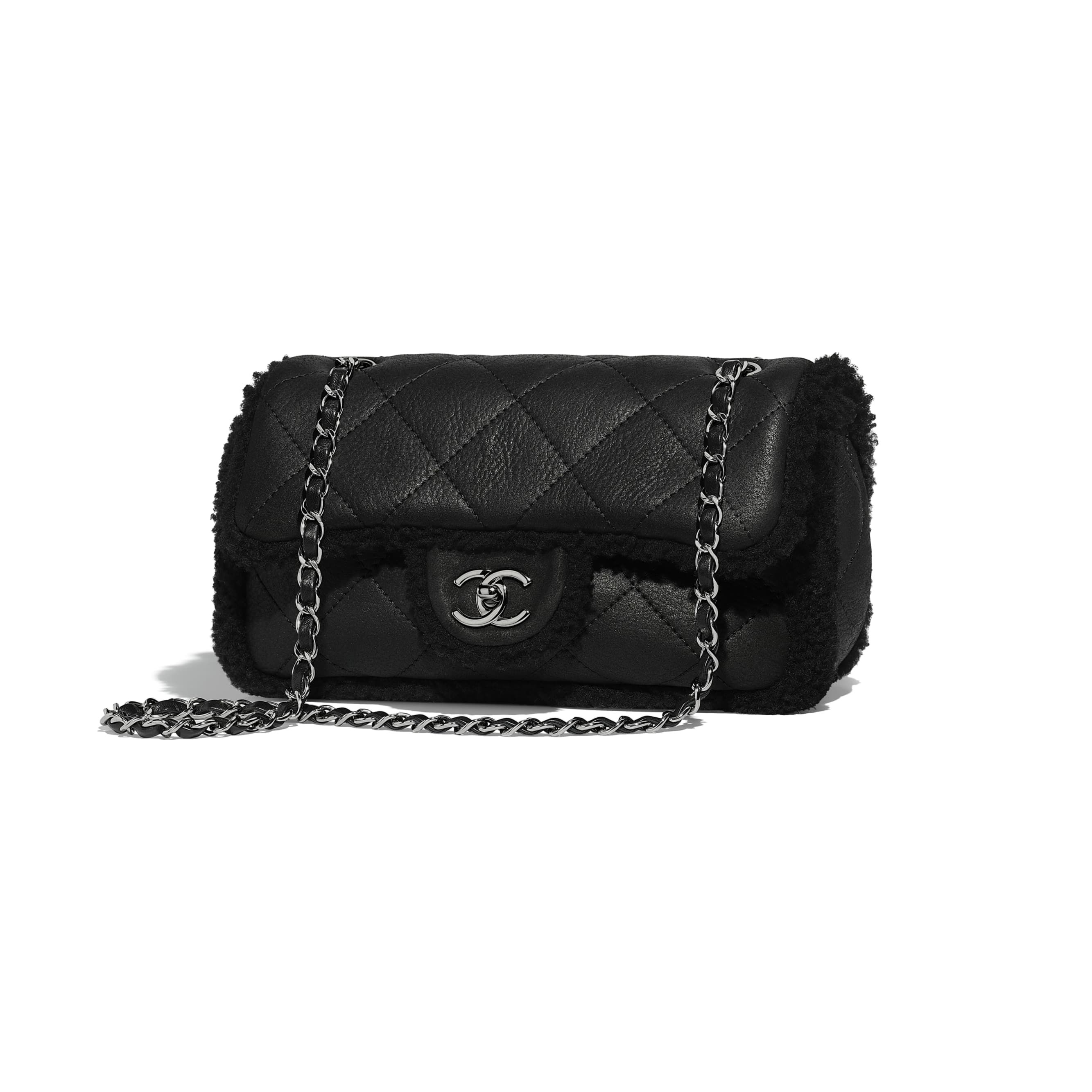 e3b80ebaa4 Chanel - Coco Neige Collection | Shearling lambskin & ruthenium ...
