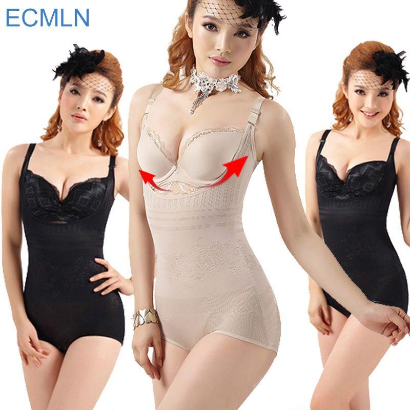 4b42a5bc96 Hot Sale Women Sexy Body Shaper High Elastic Adjustable Slimming Shapewear  Waist Corsets Breathable Bodysuits Underwears S-3XL