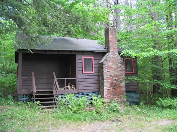 New hampshire cabins at loch lyme lodge the venue for Cabin camping new hampshire