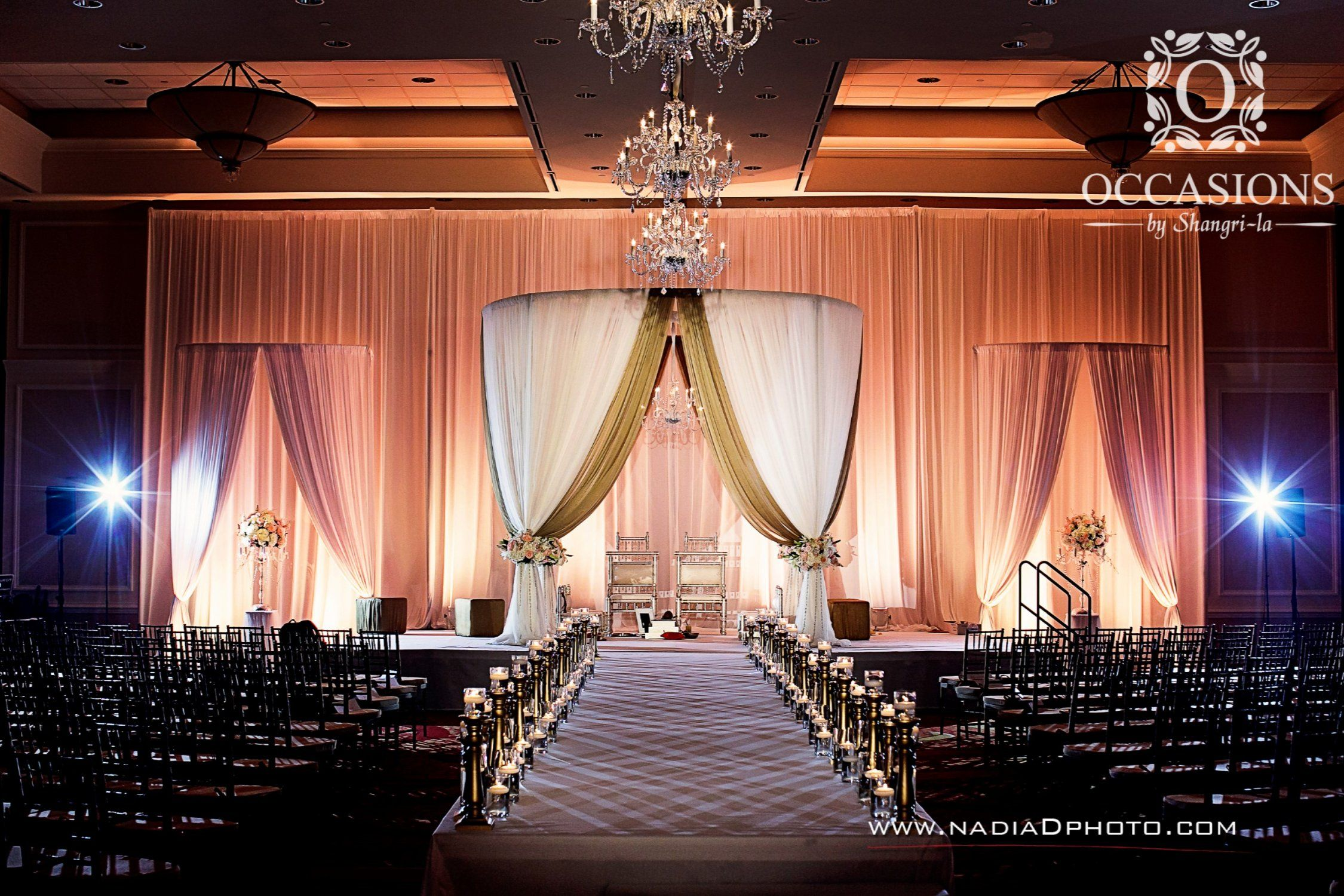Indian Wedding Decor Company Occasions By Shangri La Provides