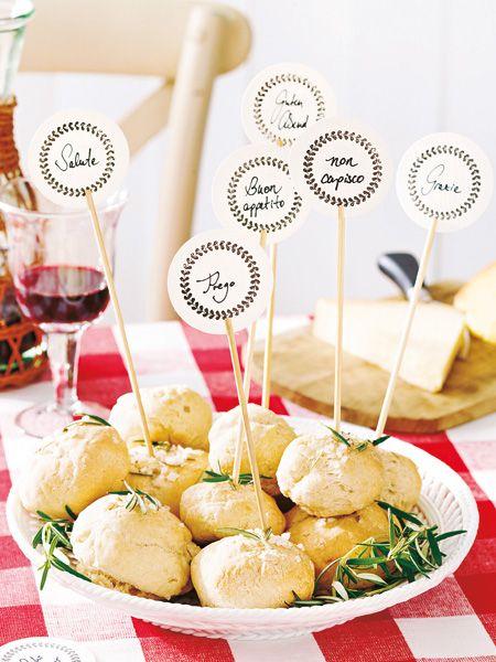 Italienische Tischdeko Wie Im Lieblingsrestaurant