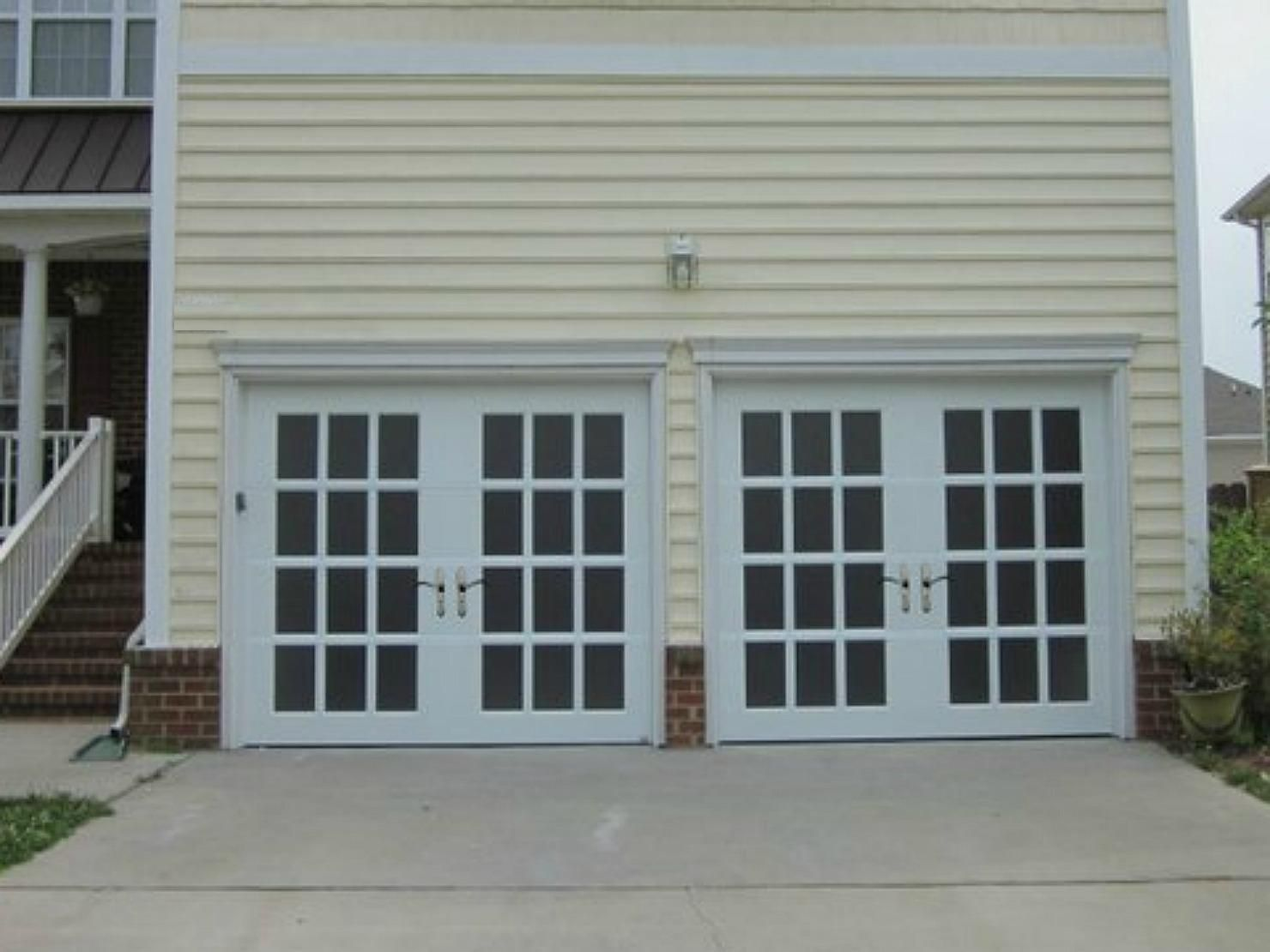 Garage door establishment is the methodology of assembling parts gorgeous garage doors styled to look like french doors beautiful design to add curb appeal rubansaba