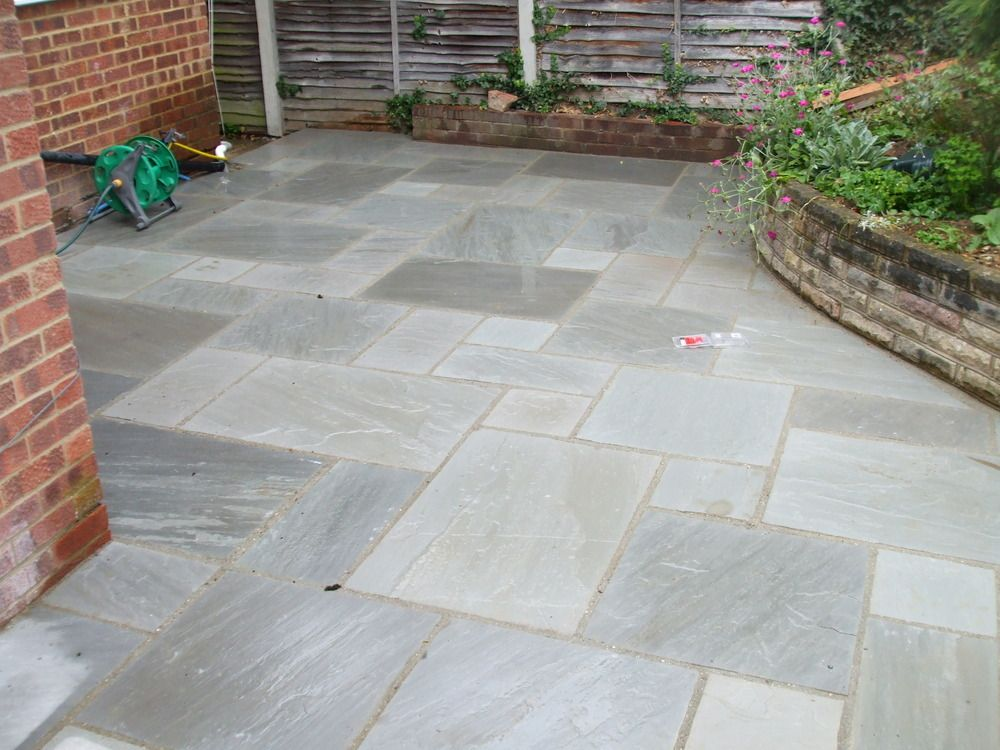 Kandla Grey Indian Sandstone | Kandla Grey Indian Sandstone Patio