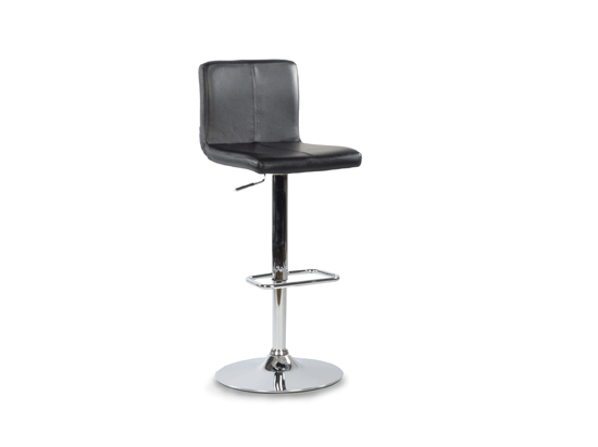 Fantastic Plummers The Cronata Barstool With Black Leather Seat And Short Links Chair Design For Home Short Linksinfo