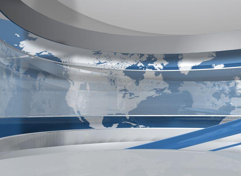 HÍRADÓ Motion Graphics TV Studio design #motiongraphics #desing #tvstudio #odd