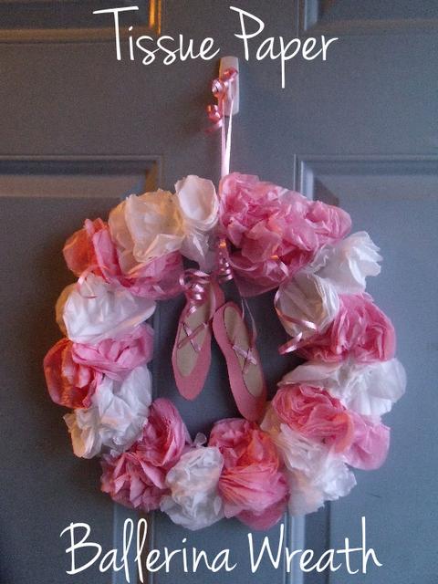 Ballerina Wreath Dancing Lady Wreath
