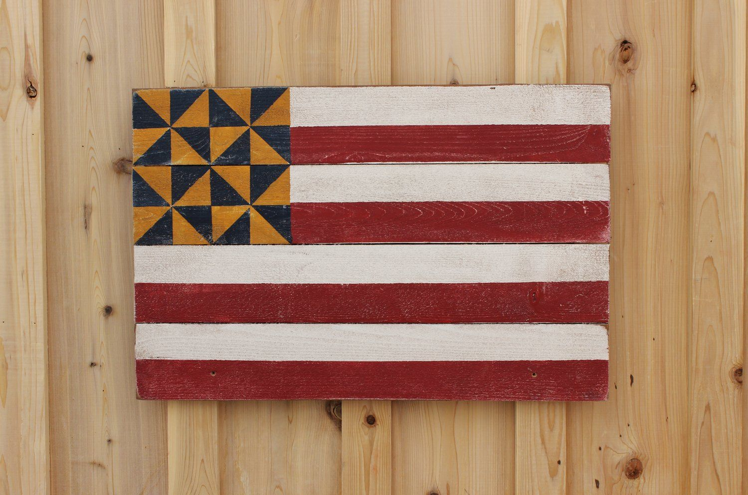 Image Of American Flag Barn Quilt With Images Barn Quilt Designs Barn Quilts Barn Quilt