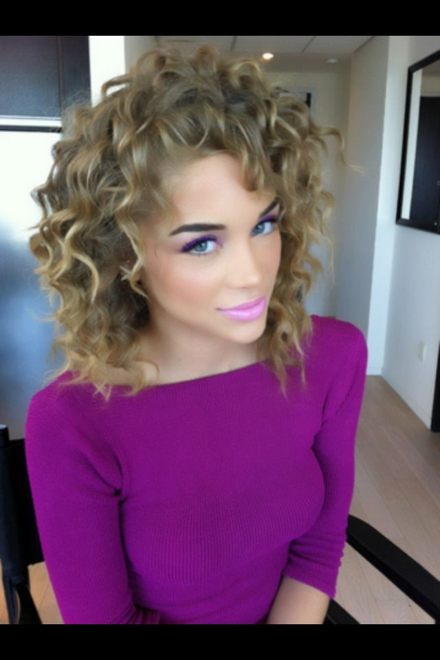 Oh So Pretty And She S A Boy Curly Hair Styles Short