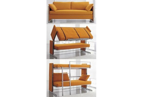 Wish | Transfurniture: Couch Turns Into Bunk Bed