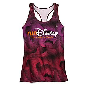 Rundisney Performance Tank Top For Women By Champion Disney