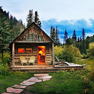 Sweet Rustic Cabin At Dunton Hot Springs, Dolores, CO · Getaway CabinsLog  ...