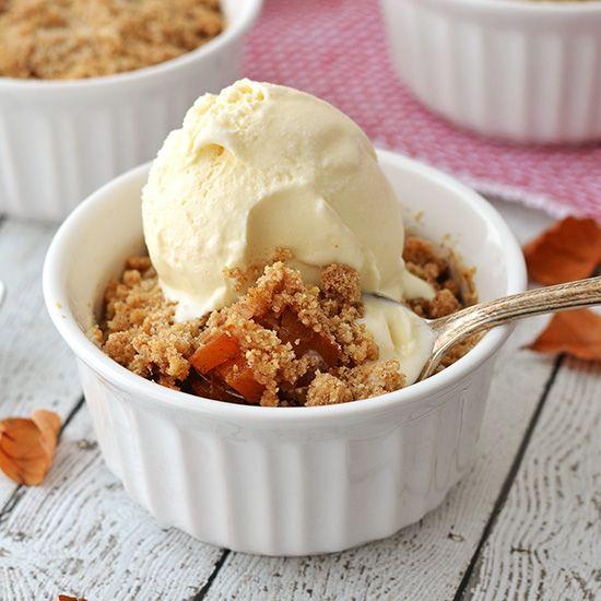 Pumpkin & Apple Crumble – Crumble de Calabaza y Manzana